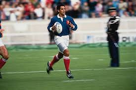 venezuelan born serge blanco is a name synonomous with french rugby the full back amassing a then record 93 tests over 11 years