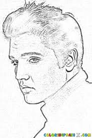 Small Picture Elvis Presley Coloring Pages 26406 Bestofcoloringcom