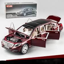 <b>KIDAMI</b> 1:24 <b>Maybach Alloy Car</b> Model Simulation Model Toys For ...