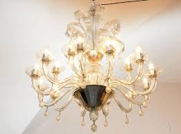 18 arms transpa murano blown glass double floor the same chandelier was ordered by