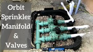 Orbit Sprinkler Designer How To Install Orbit Sprinkler Manifold And Valves