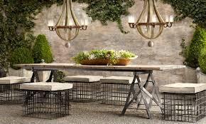 restoration hardware outdoor furniture. Enchanting Restoration Hardware Outdoor Dining Table Patio Furniture Home