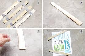 diy poster hanger tutorial project nursery