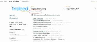 Indeed Employer Resume Search Conventional Resume Upload For Jobs
