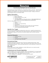 Resume For A First Job 24 How To Make Resume For First Job With Example Bussines Proposal 10