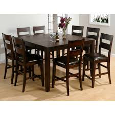 amazing jofran rustic prairie 9 piece counter height dining set dining table sets at hayneedle