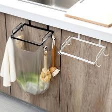 trash bag holder hanging garbage dispenser kitchen