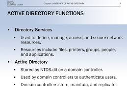 Overview Of Active Directory Ppt Video Online Download