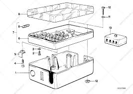 fuse box parts electronicswiring diagram parts list is for bmw 5 e12 518 sedan ece