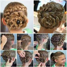 Hairstyles Curly Updo Hairstyles For Medium Length Hair
