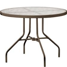 tropitone 36 inch round dining table