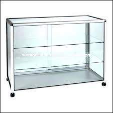 glass display cabinet full size of with lights ikea shot case glas