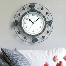 chaney wall clocks kohls chaney weathered wall clock