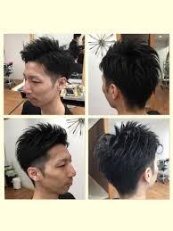 メンズショート直毛の方必見のヘアスタイルです メンズショート