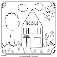 Coloriage Rentr E Maternelle