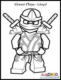 Ninjago Lloyd Zx Lego Ninjago Coloring Pageslego Ninjago Coloring