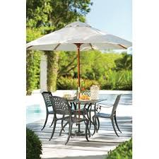 outdoor dining sets with umbrella. Olmsted 5 Piece Dining Set Outdoor Sets With Umbrella O