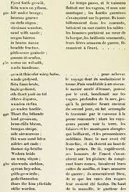 on translating beowulf a challenge to any translator beowulf parallel text of lines 210 228 the inaccurate french of hubert pierquin 1912