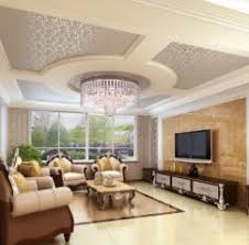 Small Picture Home Design Living Room Modern Unique False Ceiling Design For