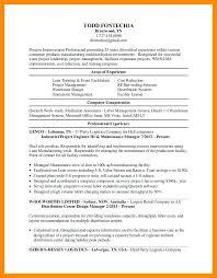 Engineering Resume Writing 9 Industrial Engineer Electrical