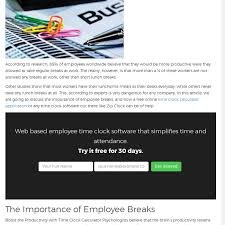 Employee Time Clock Calculator Mix Free Online Time Clock Calculator The Importance Of Employee