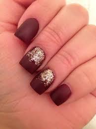 Matte burgundy deep red nails | Makeup | Pinterest | Deep red ...