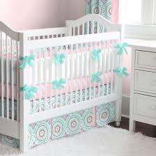 bedding cribs vintage linen round crib skirt baby home design interior furniture navy blue and white