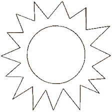 Small Picture Simple Sun Coloring Page Kids Drawing And Coloring Pages Marisa