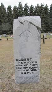Albert Forster (1879-1909) - Find A Grave Memorial