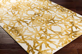 off white area rug. Artistic Weavers ORGANIC AWOG-2299 Avery Gold/Off-White Rug Off White Area E