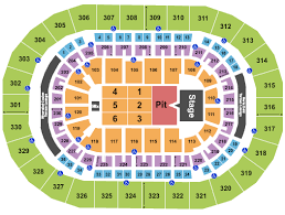 Bruno Mars Fargodome Seating Chart Chesapeake Energy Arena Tickets With No Fees At Ticket Club