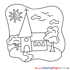 Small Picture In Church The Communion Coloring Page Coloring Coloring Pages