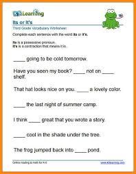 10+ 3rd grade english worksheets | math cover