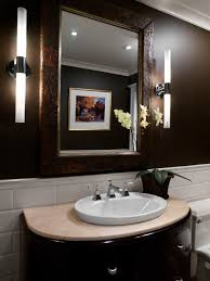 Powder Room Lighting fetching dark small powder room wall design and alluring modern 3218 by xevi.us