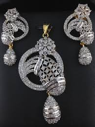 american diamond pendant set indian kundan ic and gold jewelry in atlanta and