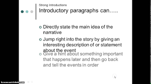 good ways to start a personal narrative essay the best way to write a narrative essay wikihow