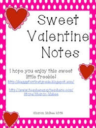 Stumped on what to write in a valentine's day card? Printable Valentine S Day Notes By Teaching Elementary Tpt