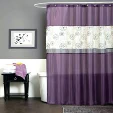 purple bathroom sets lush decor shower curtain dark set bathrooms rug fl