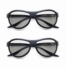 <b>2pcs</b>/<b>lot</b> Replacement AG F310 3D Glasses Polarized <b>Passive</b> ...