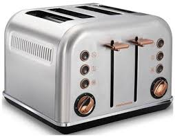 <b>Тостер Morphy Richards 4</b> slices Accents Rose Gold and Brushed в ...