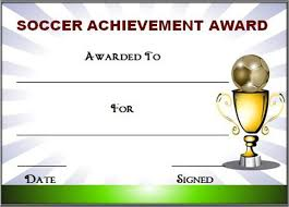 soccer awards templates editable soccer award certificate templates free premium