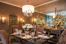 ... Stunning dining room decked out for Christmas [Design: SAJ Designs]