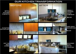 Reno'd our kitchen in contact paper for 13 bucks! White contact paper for