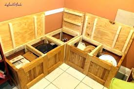 breakfast nook furniture with storage breakfast nook bench with storage diy