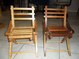 childrens solid wood fold up chairs