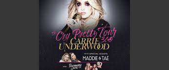 Carrie Underwood Launches All Female Cry Pretty Tour