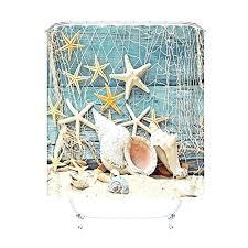 Seaside Decorative Accessories Decorations Cheap Seashell Bathroom Decor Seaside Seashell 35