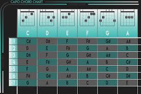Cut Capo Chord Chart Guitar Capo Chart Gallery Of Chart 2019