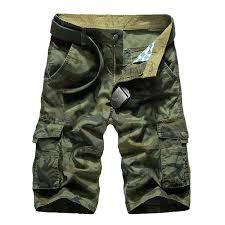 <b>2019</b> Military Camo Cargo Shorts <b>Summer Fashion</b> Camouflage ...