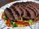 barbara s flank steak dinner